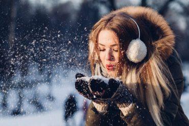 belle en hiver