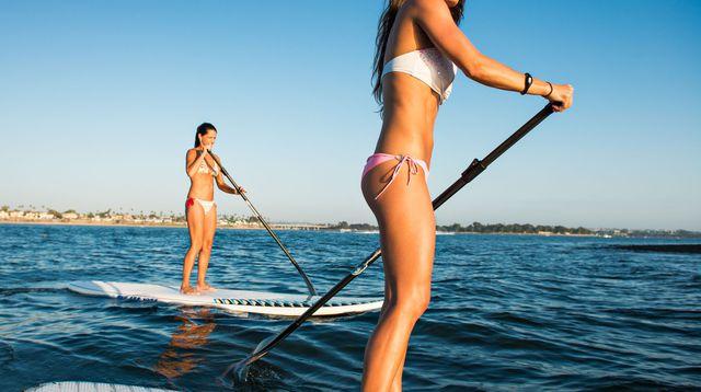 Le paddle, une activité aquatique